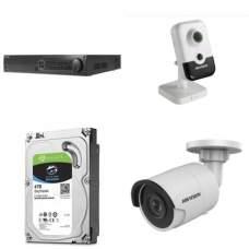 Комплект на 10 IP камер
