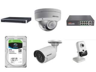 Комплект на 12 IP камер