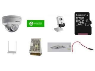 Комплект на 4 камеры с картами памяти