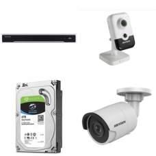 Комплект на 8 IP камер