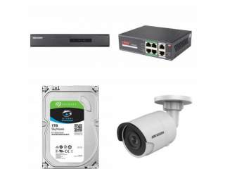 Комплект на 2 IP камеры