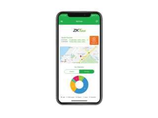 Мобильное приложение для программного обеспечения  BioTime 8.0
