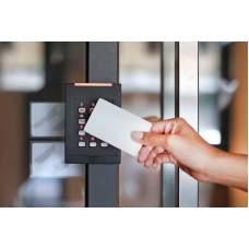 Комплект СКУД со считывателем карточек на одну дверь