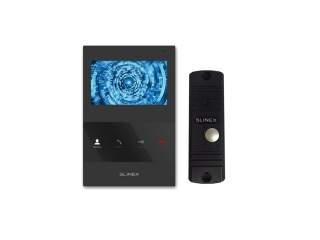 Комплект домофона Slinex SQ-04 черный+ML-16HR