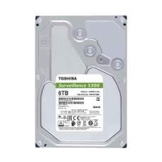 Жесткий диск для видеонаблюдения TOSHIBA HDD 6Tb S300 Surveillance