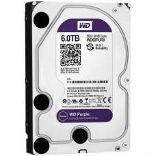Жесткий диск Western Digital Purple WD60PURZ, 6000 GB