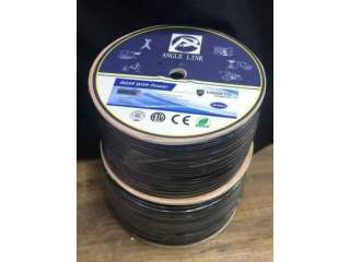 Кабель коаксиальный с жилами питания 0,75 мм для видеонаблюдения RG59 (SYN)