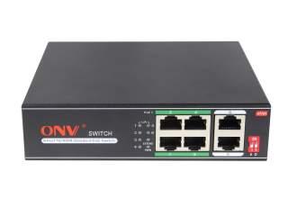 PoE коммутатор 4-портовый ONV H1064PLD