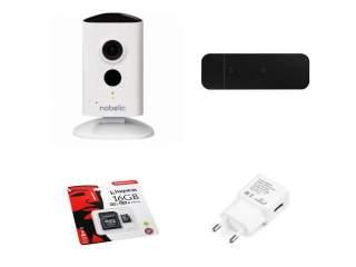Камера Wi-Fi облачная 2Мп полный комплект с модемом 3G 4G