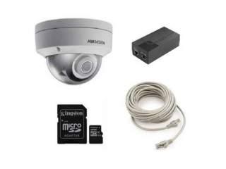 Облачная антивандальная IP камера+комплектующие