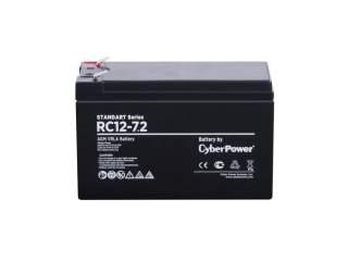 Аккумуляторная батарея CyberPower RC 12-7.2
