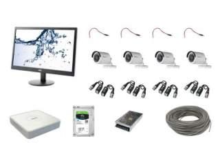Комплект для видеонаблюдения на 4 камеры