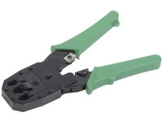 Инструмент обжимной TM1-G10V RJ-45/12/11 ручка PVC